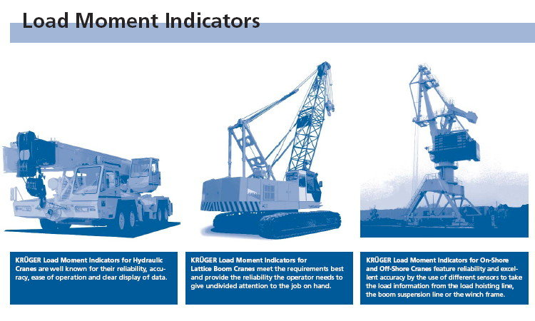 Load Moment Indicators For Cranes : Electronic control systems elwc